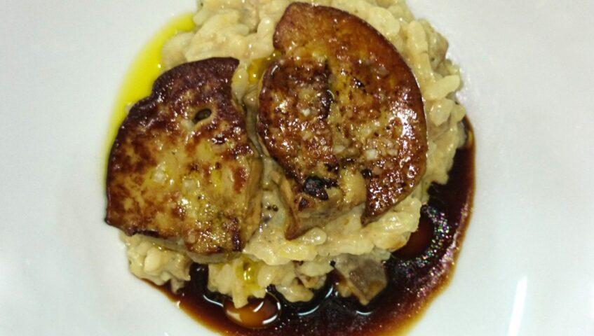 Onddo-risottoa foie-grasarekin